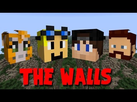 Minecraft PC - The Walls - W/Stampy, Ash & SnakeDoctor