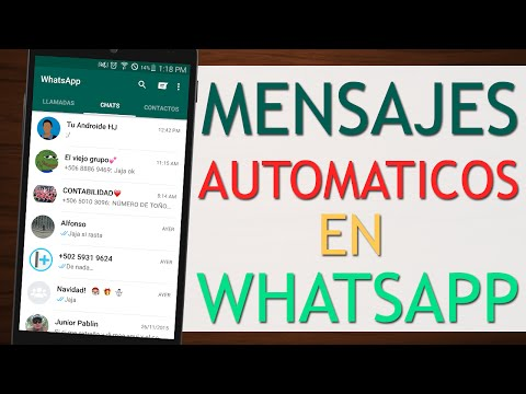 Programar mensajes para que se envíen automaticamente en WhatsApp - Andro Space