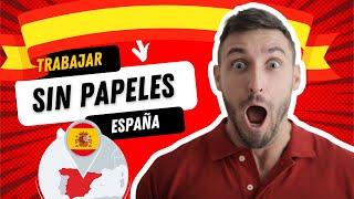 😳VIVIR en ESPAÑA 🇪🇸- TRABAJAR sin PAPELES - 2019 😲✅