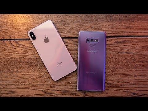 iPhone Xs Max vs Galaxy Note 9!
