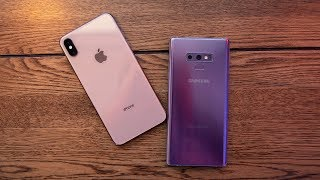 iPhone Xs Max vs Galaxy Note 9!