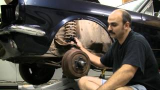 Episode 82 Negative Camber Wedge Kit, Shelby Drop Mustang, Falcon, Fairlane Autorestomod