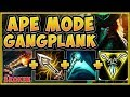 WTF! GETTING FED ON GANGPLANK IS EASIER THAN EVER BEFORE! GANGPLANK TOP GAMEPLAY! League of Legends