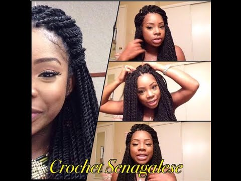 PROTECTIVE STYLE : Crochet Senegalese Twist