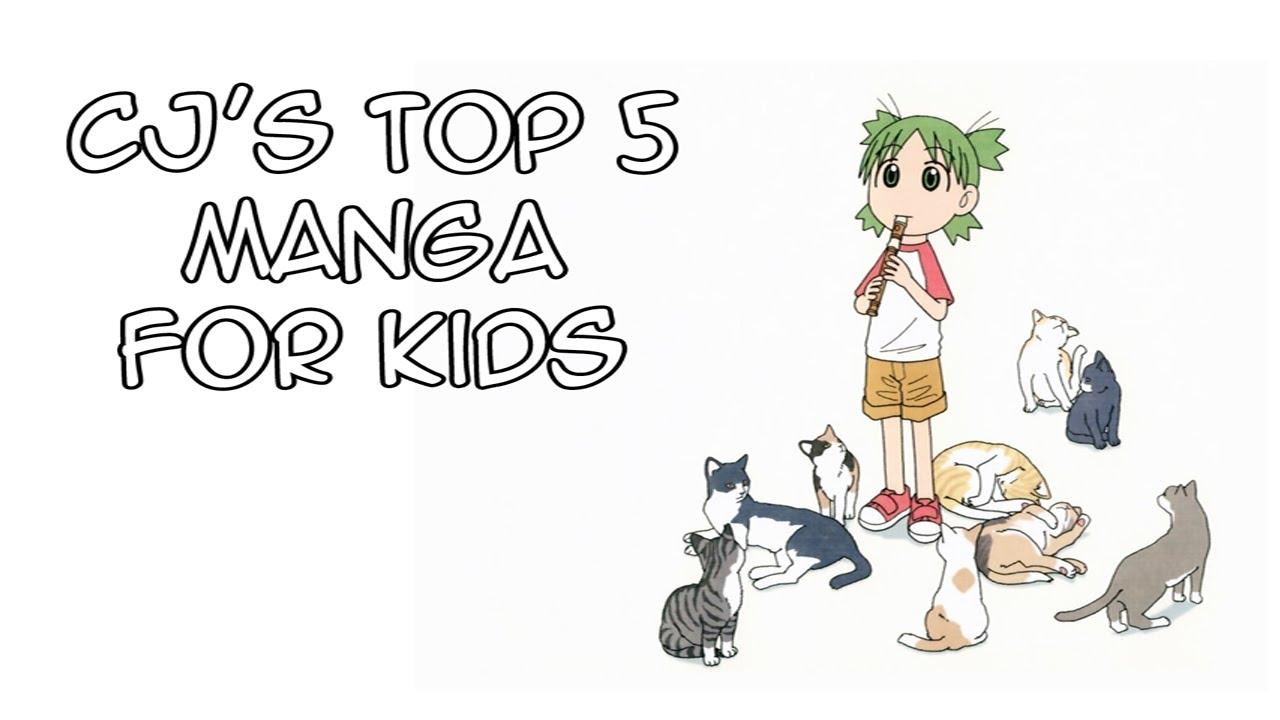 Cjs top 5 manga for kids