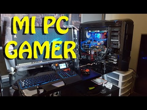 Mi pc gamer 2016 y habitaci n gaming 2016 espa ol youtube for Pc retouche photo 2016