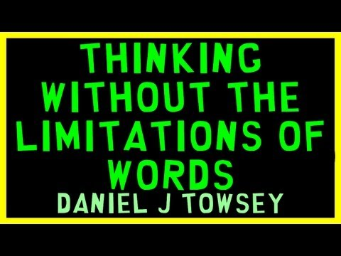 Thinking without the limitations of words