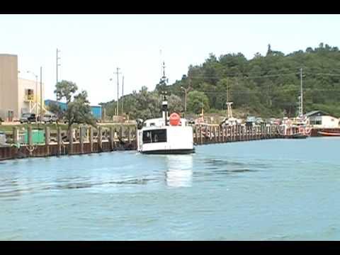 Fishing Tug Noskca-J Inbound Goderich