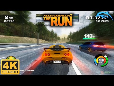Need For Speed: The Run - Gameplay Wii 4K 2160p (Dolphin 5.0)