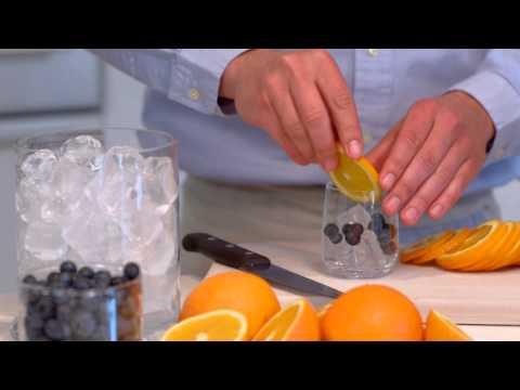 Blueberry Orange Sparkling Water