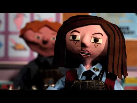Tegan The Vegan - Short Animation Trailer