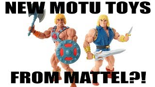 SDCC Exclusive He-Man Figures Announced From Mattel