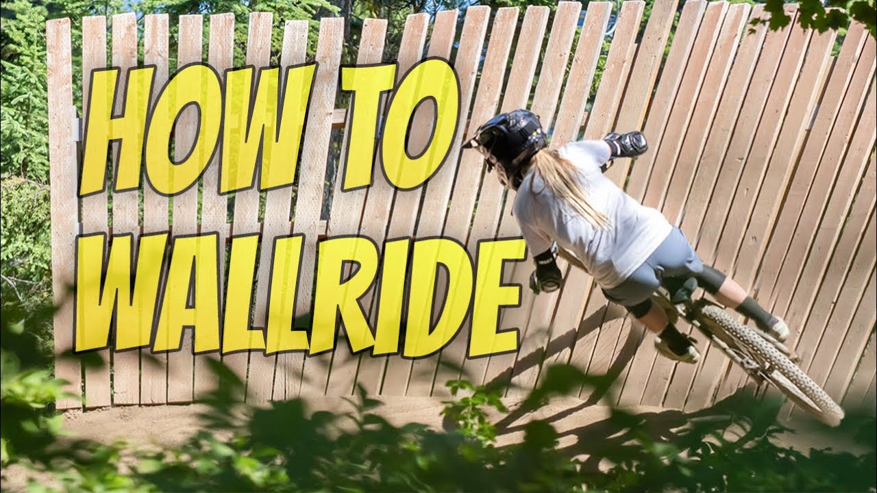 Learning To Wall Ride - Progression Session #2