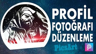 Profil Fotoğrafı Yapımı | Vektör | PicsArt Tutorial