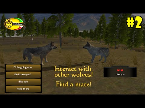 WolfQuest Mobile 2.7.2 -Find A Mate- Android/iOS/Kindle - Gameplay Episode 2