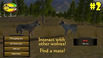 WolfQuest Mobile -Find A Mate- Android/iOS/Kindle - Gameplay Episode 2