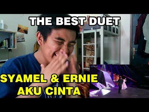 #AJL32 - SYAMEL & ERNIE ZAKRI - Aku Cinta  MV REACTION (The Best Duet)