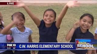 Back to School: C.W. Harris Elementary School