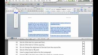 igcse ict summer 2008 paper 2 questions 6 34 word processing