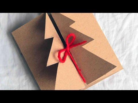 How To Make A Handmade Christmas Card - DIY Crafts Tutorial