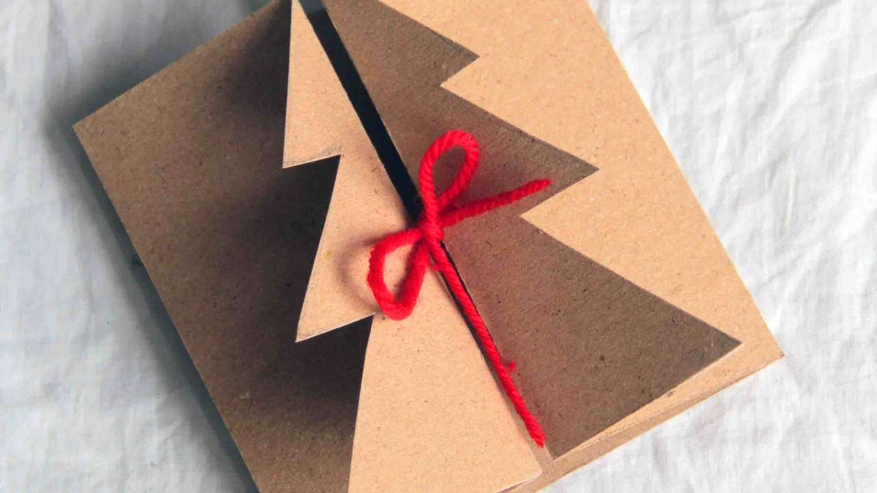 How To Make A Handmade Christmas Card Diy Crafts