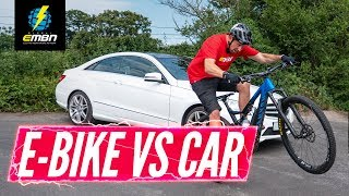 E Bike Vs Car: The Commute Challenge | Which Is Best For Getting To Work?