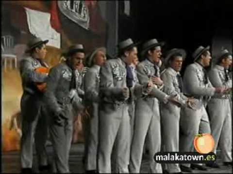 Comparsa, La Copla. 3/3 Gran Final Carnaval Malaga 2001.