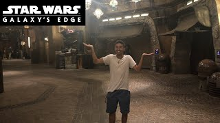 WE WERE THE LAST PEOPLE IN DISNEY WORLD'S STAR WARS GALAXY'S EDGE