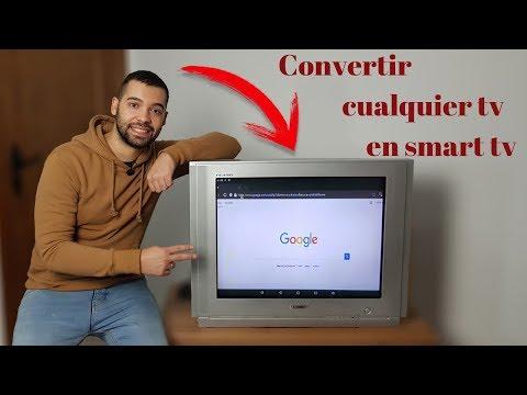 convertir cualquier tv en smart tv