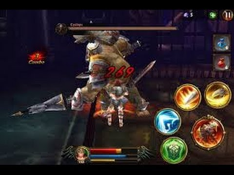 Eternity Warriors 3 Tutortial - How To Kill The CYCLOP (Warrior)