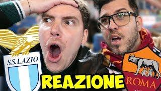 LAZIO ROMA 0-0 REAZIONE DALLO STADIO! - SONO TUTTI DELLA ROMA! - Lazio vs Roma Highlights 15/04/2018