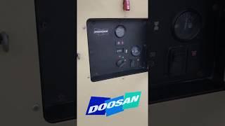 Doosan XP375 - 375 CFM Portable Diesel Tow Behind Air Compressor