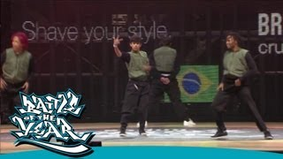 BOTY 2011 - SHOWCASE - AMAZON B BOYS (BRAZIL) [OFFICIAL HD VERSION BOTY TV]