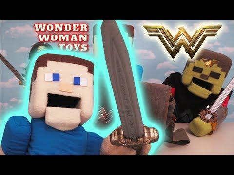 SWORD ATTACK SURPRISE Easter Egg Wonder Woman Movie Toys Action figure Mattel UNBOXING!