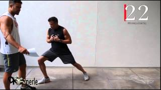 Full Body HIIT Training Cardio Bootcamp Man Over 50