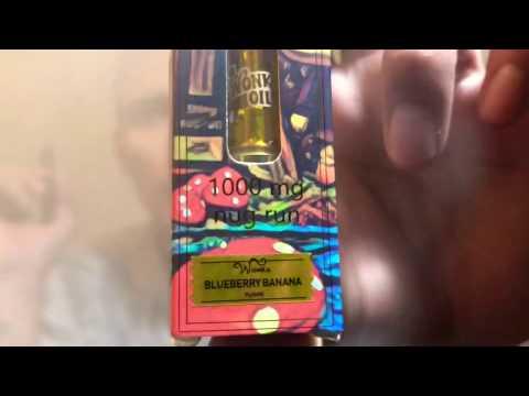 Wonka Oil- Blueberry Banana 🍯🍓🍌Cartridge review - YouTube