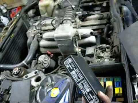 bmw e32 engine bay diagram bmw e32 735i engine change pt1 - youtube bmw e36 engine bay diagram full #4