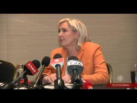 Marine Le Pen à Coeur Ouvert au Québec 20.03.16