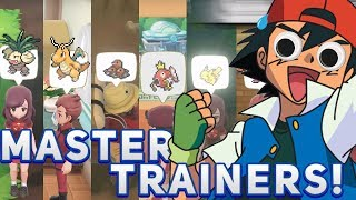 MASTER TRAINERS - Pokémon: Let's Go, Pikachu! and Let's Go, Eevee!