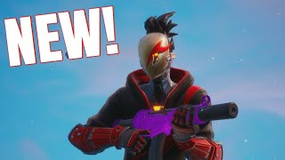 Fortnite Season 10 NEW RED STRIKE Skin Pack Gameplay!