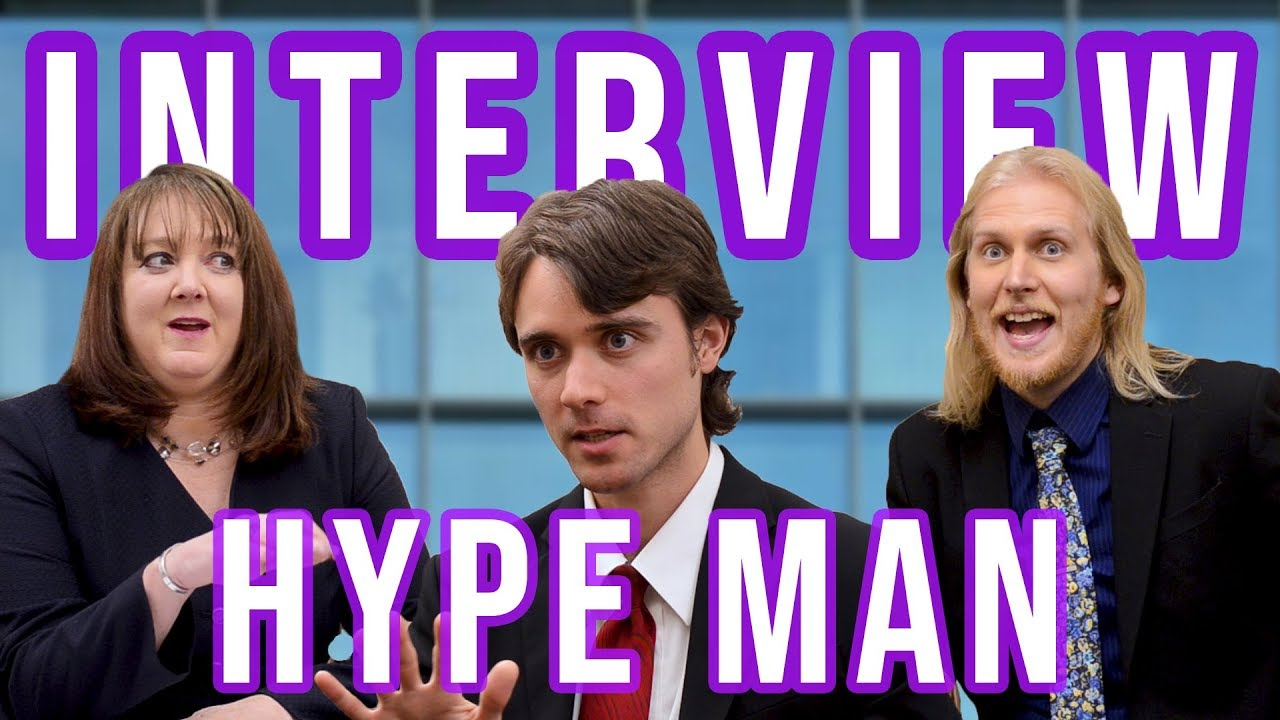 Interview Hype Man | Comedy Sketch