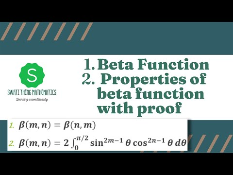 Beta Function Properties|| Beta and Gamma Function Lecture no. 7