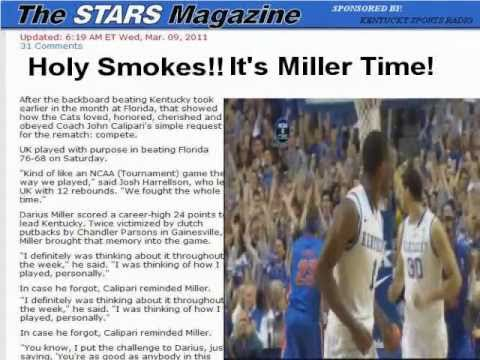 "2011-2012 Kentucky Basketball: ""Written in the Stars (Magazine)"""