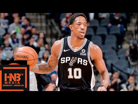 San Antonio Spurs vs Portland Trail Blazers Full Game Highlights | 12.02.2018, NBA Season