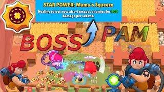 PAM & BOSS = STAR POWER:Mams's Squeeze  #BrawlStars | 荒野亂鬥 28