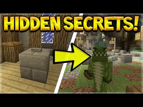 NEW LOBBY SECRETS!! Minecraft Console Edition Mini-Game Lobby HIDDEN Secrets (Console Edition)