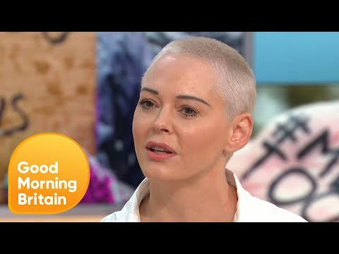 Rose McGowan Hits Back at Maureen Lipman's Comments on the MeToo Movement  Good Morning Britain