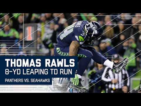 Big Plays by Lockett & Graham Lead to Thomas Rawls' Big TD! | Panthers vs. Seahawks | N FL