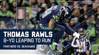 Big Plays by Lockett & Graham Lead to Thomas Rawls' Big TD!   Panthers vs. Seahawks   N FL