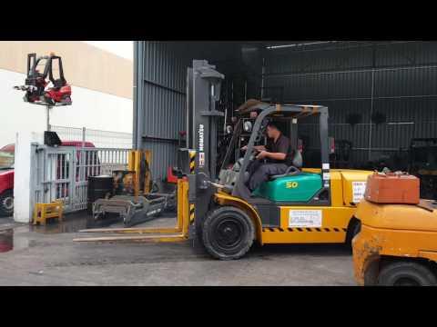 Used diesel Forklift for Sales I Komatsu fd50-7 I Singapore